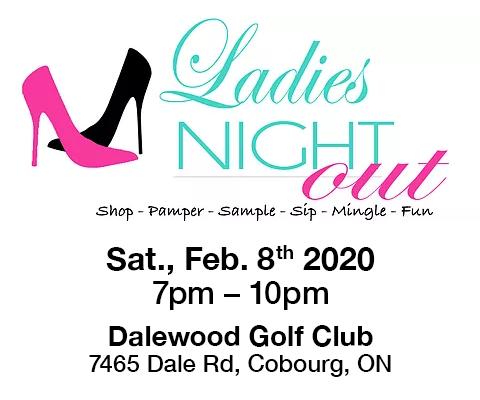 Ladies Night Out Cobourg - Studio100 - Ad
