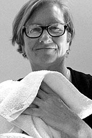 Reflexologist Judi Sawyer