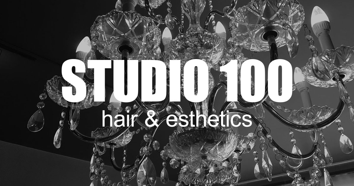 Studio 100 Hair & Esthetics logo
